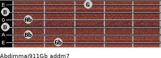 Abdim(maj9/11)/Gb add(m7) guitar chord