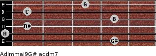 Adim(maj9)/G# add(m7) guitar chord