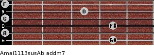 Amaj11/13sus/Ab add(m7) guitar chord