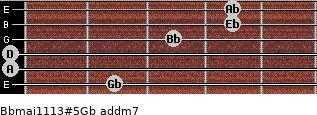 Bbmaj11/13#5/Gb add(m7) guitar chord