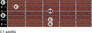 C7(add9)\G for guitar on frets 3, 3, 0, 3, 1, 0