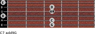 C7(add9)\G for guitar on frets 3, 3, 0, 3, 3, 0