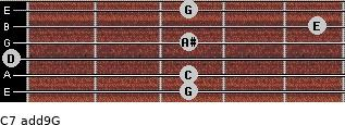 C7(add9)\G for guitar on frets 3, 3, 0, 3, 5, 3