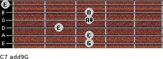 C7(add9)\G for guitar on frets 3, 3, 2, 3, 3, 0