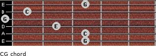 C\G for guitar on frets 3, 3, 2, 0, 1, 3