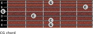 C\G for guitar on frets 3, 3, 2, 0, 5, 3
