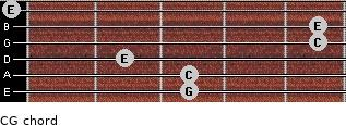 C\G for guitar on frets 3, 3, 2, 5, 5, 0